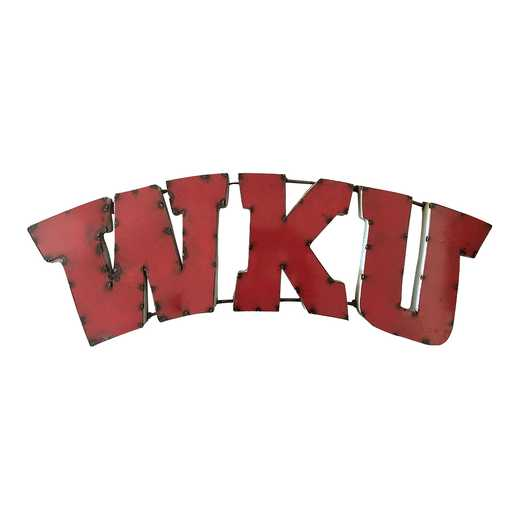 WKUWD: WKU recycled metal wall décor