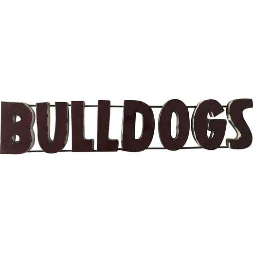 BLDGSWD: LRT MS St Bulldogs Metal Décor