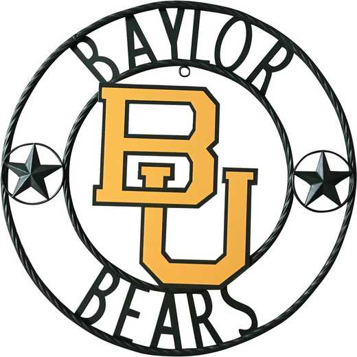 BYLWRI24: LRT Baylor wrought iron wall décor 24""