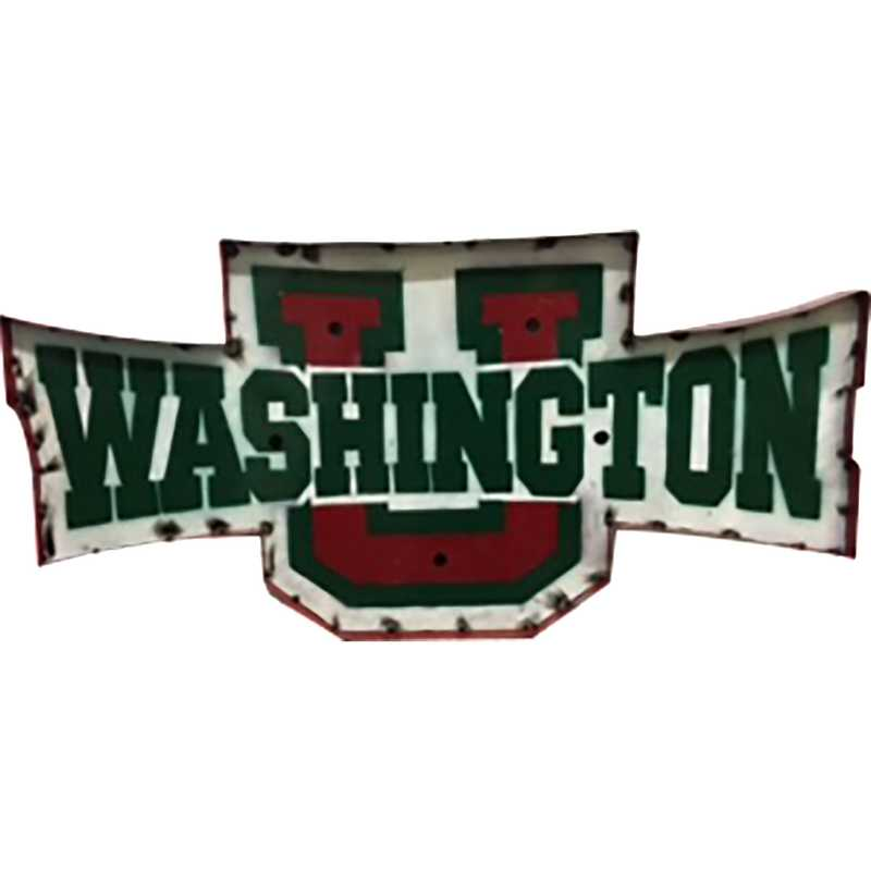 WASHUWD: Wash U recycled metal wall décor