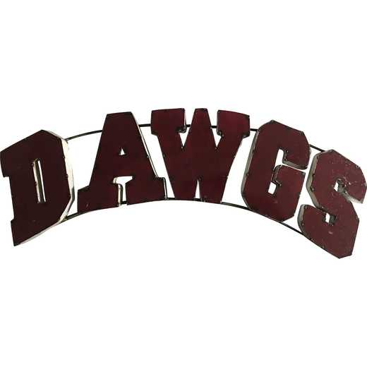 DAWGMSWD: LRT MS St Dawgs Metal Décor