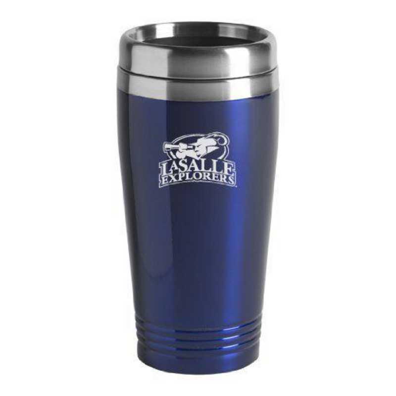 Stainless Steel Mug-Blue LXG Inc La Salle State University-16 oz