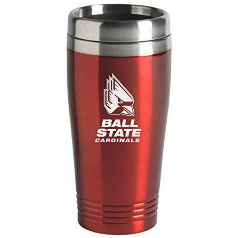 150-RED-BALLST-L1-LRG: LXG 150 TUMB RED, Ball State
