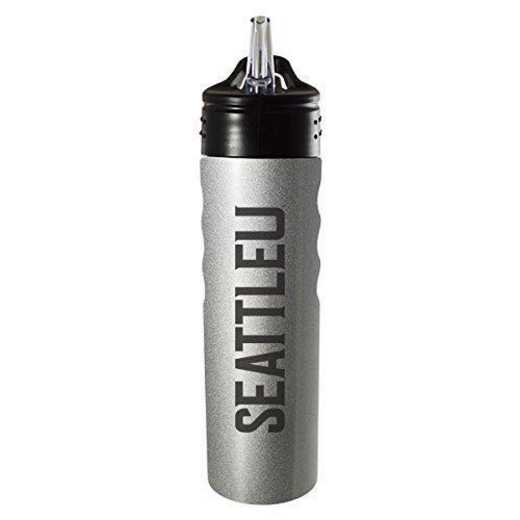 BOT-400-SIL-SEATTLEU-SMA: LXG 400 BOTTLE SLV, Seattle Univ