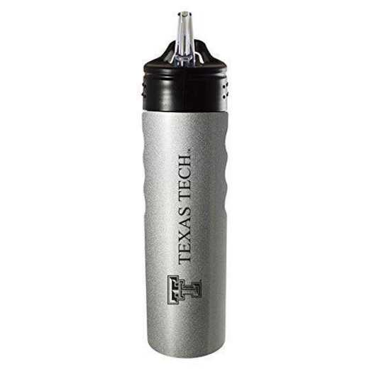 BOT-400-SIL-TXTECH-SMA: LXG 400 BOTTLE SLV, Texas Tech