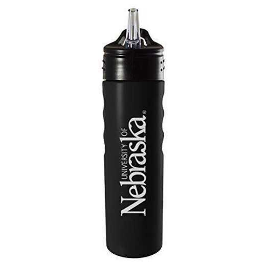 BOT-400-BLK-NEBRASK-CLC: LXG 400 BOTTLE BLK, Nebraska