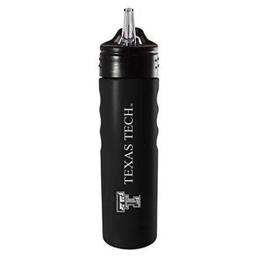 BOT-400-BLK-TXTECH-SMA: LXG 400 BOTTLE BLK, Texas Tech