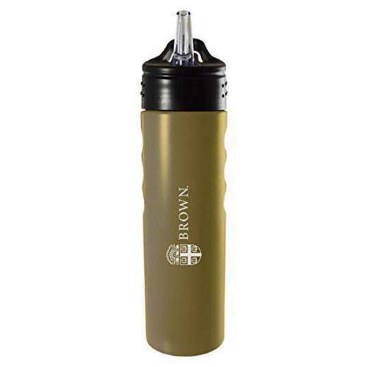 BOT-400-GLD-BROWN-LRG: LXG 400 BOTTLE GLD, Brown University