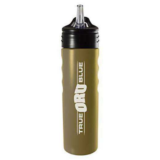 BOT-400-GLD-ORALRBT-LRG: LXG 400 BOTTLE GLD, Oral Roberts University
