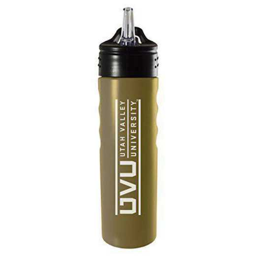 BOT-400-GLD-UTVLYST-SMA: LXG 400 BOTTLE GLD, Utah Valley