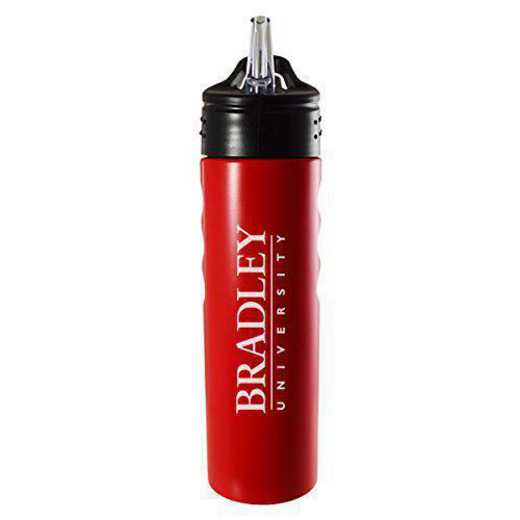BOT-400-RED-BRADLEY-LRG: LXG 400 BOTTLE RED, Bradley University
