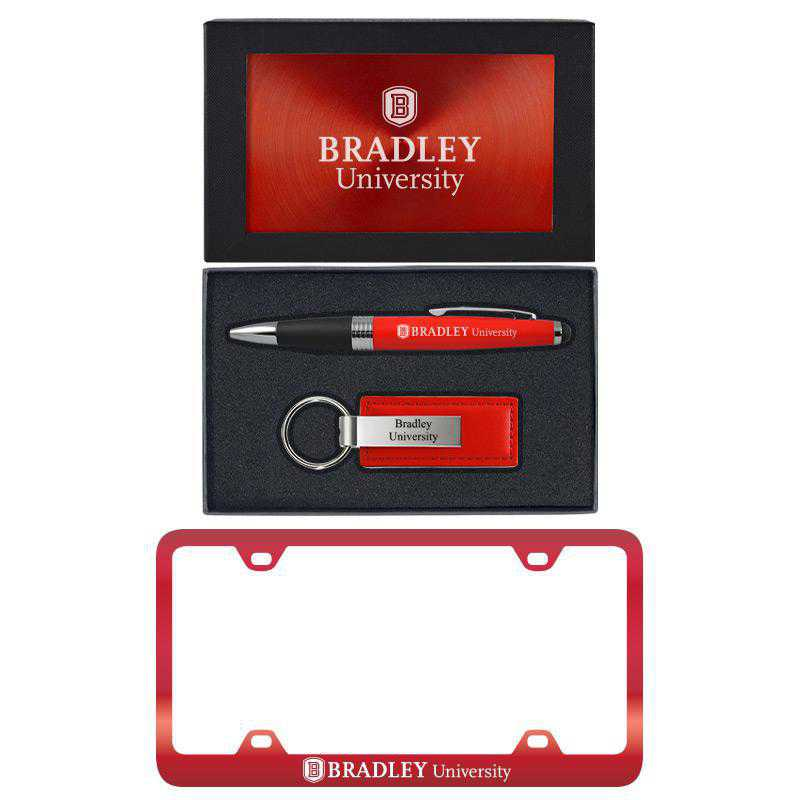 SET-A3-BRADLEY-RED: LXG Set A3 pen KC Tag, Bradley