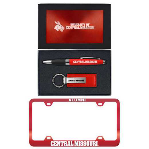 SET-A3-CMSU-RED: LXG Set A3 pen KC Tag, Central Missouri