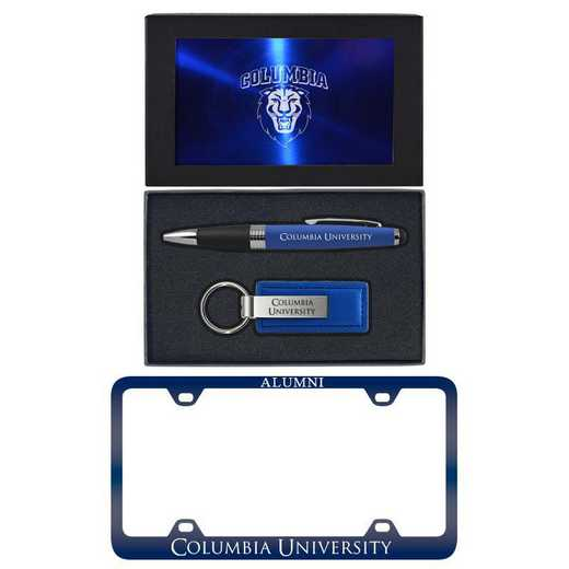 SET-A3-COLUMBIA-BLU: LXG Set A3 pen KC Tag, Columbia