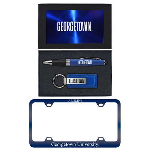 SET-A3-GORGTWN-BLU: LXG Set A3 pen KC Tag, Georgetown