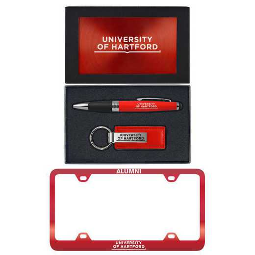 SET-A3-HARTFRD-RED: LXG Set A3 pen KC Tag, Hartford