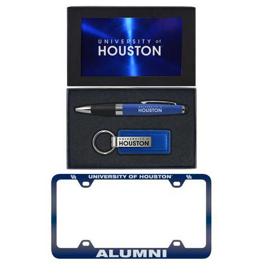 SET-A3-HOUSTON-BLU: LXG Set A3 pen KC Tag, Houston