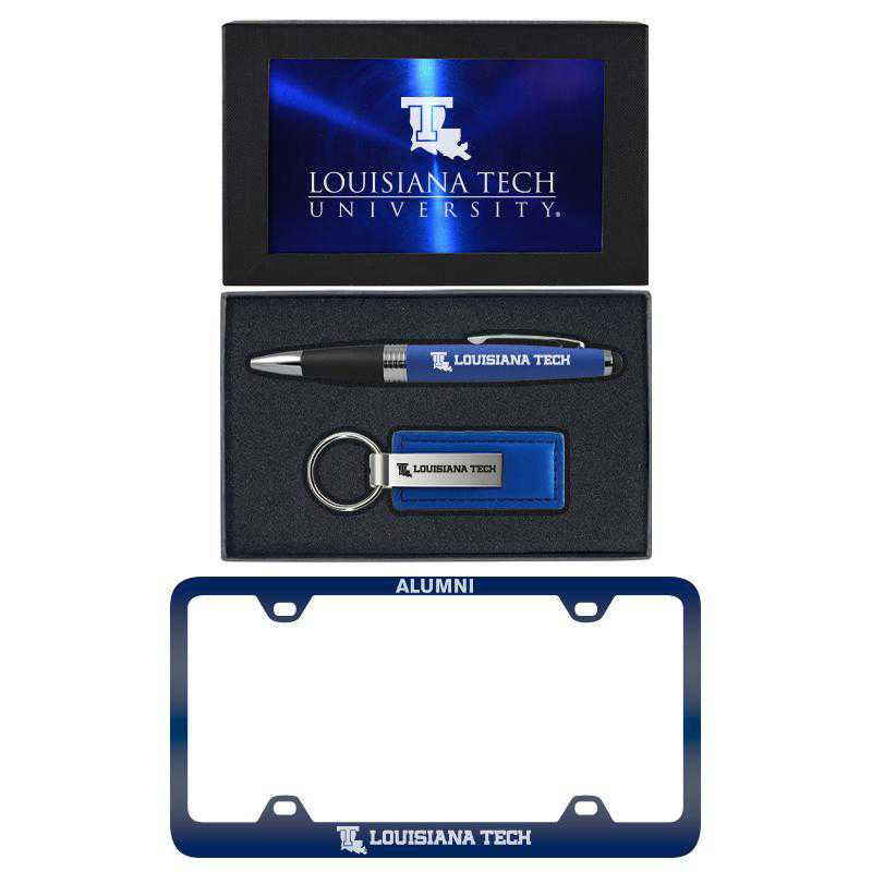 SET-A3-LATECH-BLU: LXG Set A3 pen KC Tag, Louisiana Tech