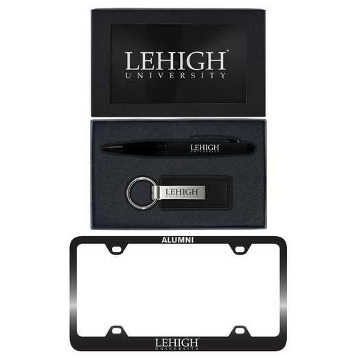 SET-A3-LEHIGH-BLK: LXG Set A3 pen KC Tag, Lehigh