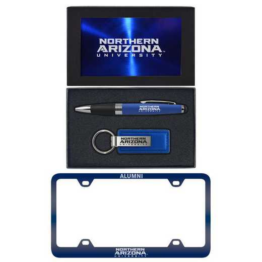 SET-A3-NAU-BLU: LXG Set A3 pen KC Tag, Northern Arizona
