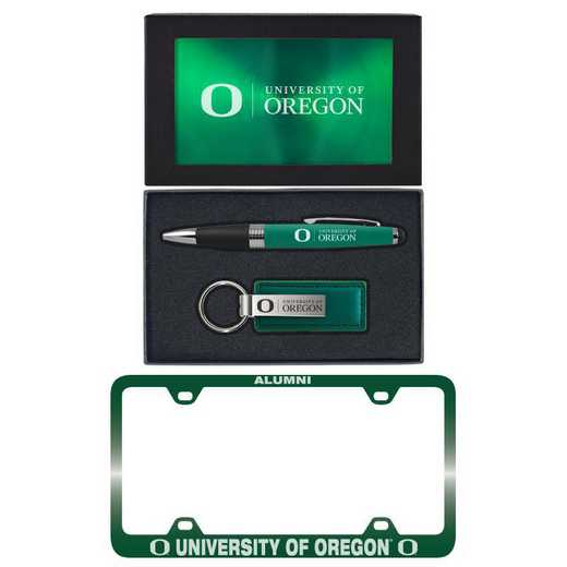 SET-A3-OREGON-GRN: LXG Set A3 pen KC Tag, Oregon