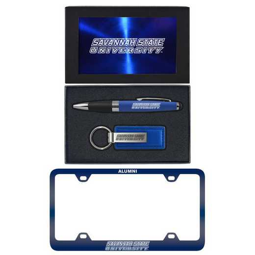 SET-A3-SAVANST-BLU: LXG Set A3 pen KC Tag, Savannah State