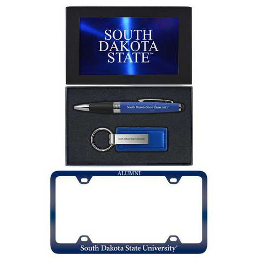 SET-A3-SDKTAST-BLU: LXG Set A3 pen KC Tag, South Dakota State