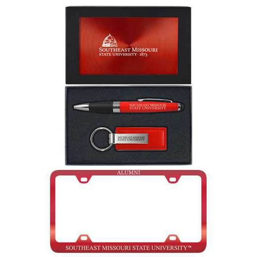 SET-A3-SEASTMO-RED: LXG Set A3 pen KC Tag, Southeast Missouri State
