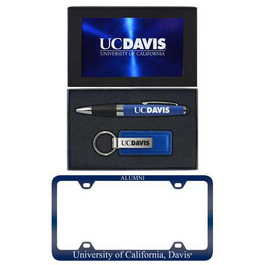 SET-A3-UCDAVIS-BLU: LXG Set A3 pen KC Tag- California-Davis