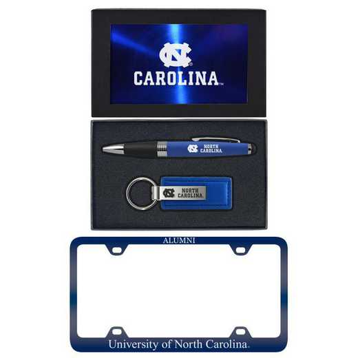 SET-A3-UNC-BLU: LXG Set A3 pen KC Tag, North Carolina