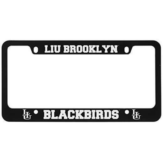SM-31-BLK-LIU-1-LRG: LXG SM/31 CAR FRAME BLACK, Long Island Univ- Brooklyn
