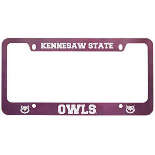 SM-31-PNK-KENNESAW-1-SMA: LXG SM/31 CAR FRAME PINK, Kennesaw State