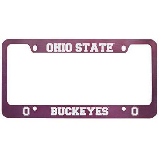 SM-31-PNK-OHIOST-1-IND: LXG SM/31 CAR FRAME PINK, Ohio State