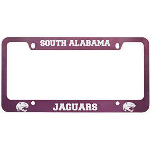 SM-31-PNK-STHALAB-1-SMA: LXG SM/31 CAR FRAME PINK, South Alabama