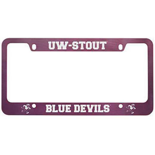 SM-31-PNK-WISCSTO-1-LRG: LXG SM/31 CAR FRAME PINK, Wisconsin-Stout