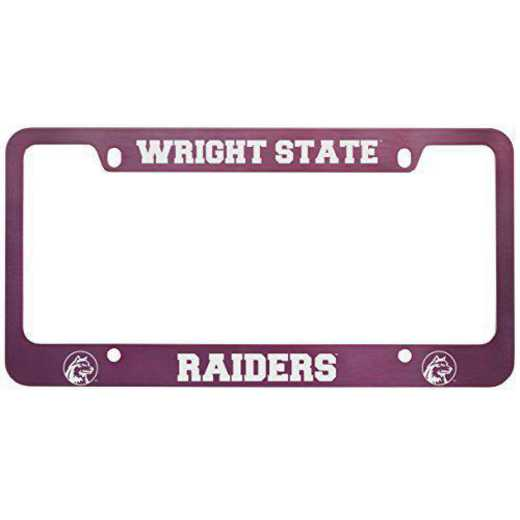 SM-31-PNK-WRGHTST-1-LRG: LXG SM/31 CAR FRAME PINK, Wright State