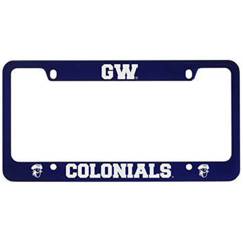 SM-31-BLU-GORGWSH-1-CLC: LXG SM/31 CAR FRAME BLUE, George Washington University