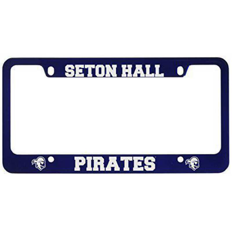 SM-31-BLU-SETHALL-1-LRG: LXG SM/31 CAR FRAME BLUE, Seton Hall University