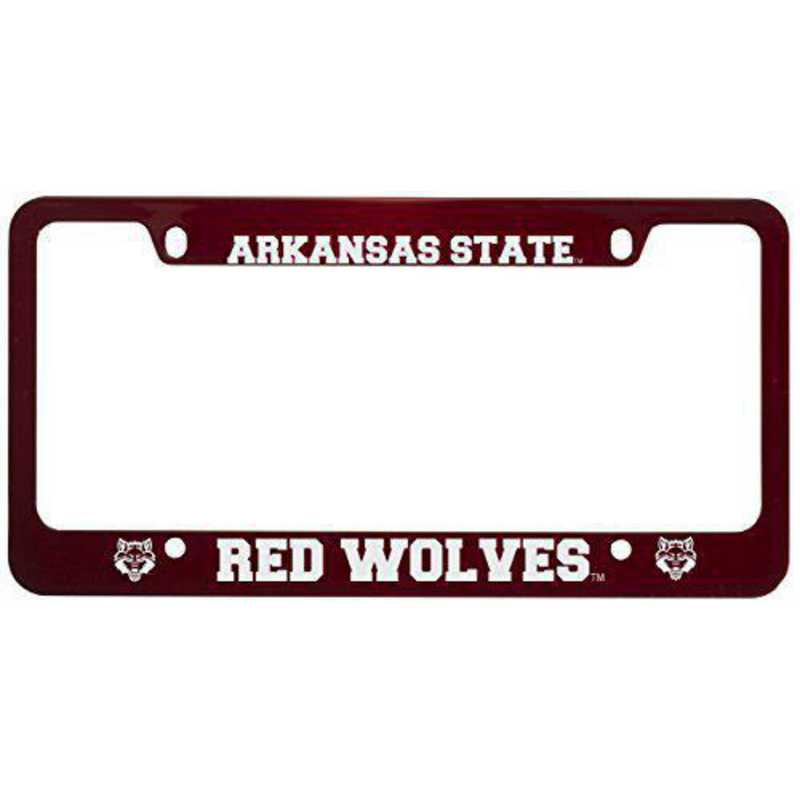 SM-31-RED-ARKST-1-CLC: LXG SM/31 CAR FRAME RED, Arkansas State