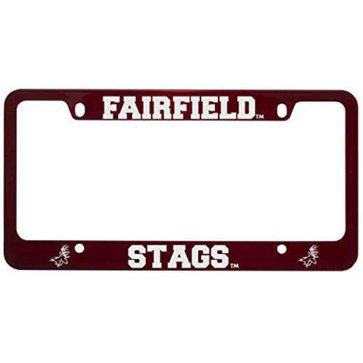 SM-31-RED-FAIRFLD-1-SMA: LXG SM/31 CAR FRAME RED, Fairfield University