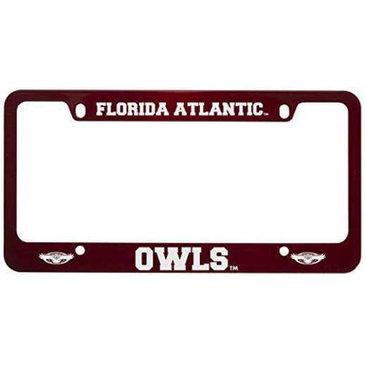 SM-31-RED-FAU-1-SMA: LXG SM/31 CAR FRAME RED, Florida Atlantic