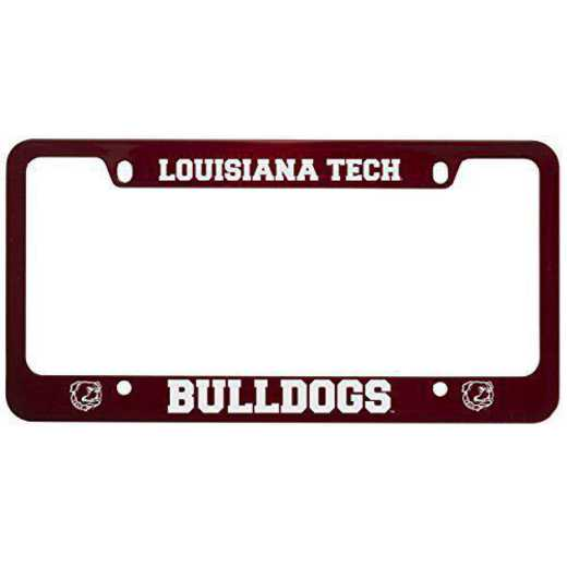 SM-31-RED-LATECH-1-CLC: LXG SM/31 CAR FRAME RED, Louisiana Tech