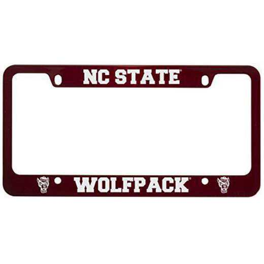 SM-31-RED-NCSTATE-1-LRG: LXG SM/31 CAR FRAME RED, NC State