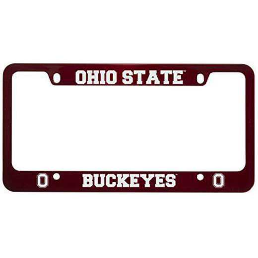 SM-31-RED-OHIOST-1-IND: LXG SM/31 CAR FRAME RED, Ohio State