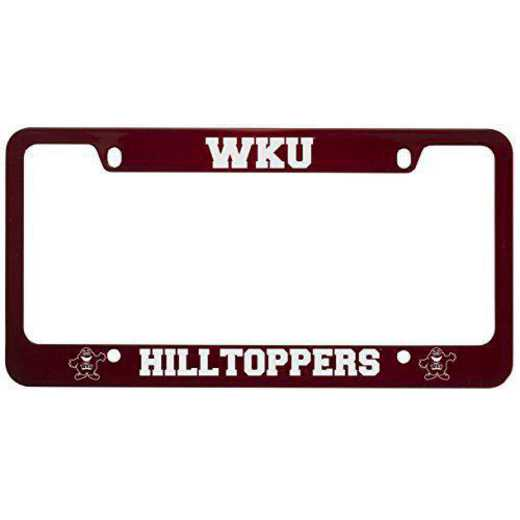 SM-31-RED-WESTKY-1-CLC: LXG SM/31 CAR FRAME RED, Western Kentucky