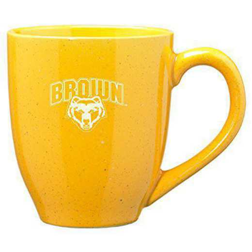CER1-GLD-BROWN-RL1-LRG: LXG L1 MUG GLD, Brown University