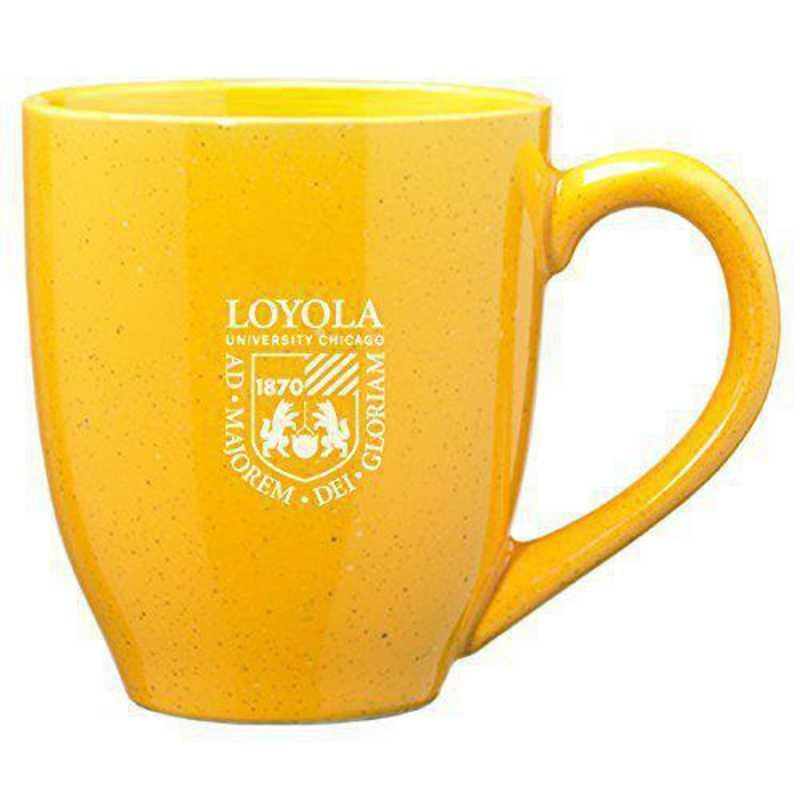 Loyola University Chicago 16-ounce Ceramic Coffee Mug Gold