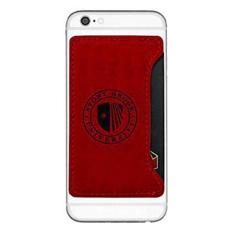 Cell Phone Card Holder >> Stony Brook University Cell Phone Card Holder Red