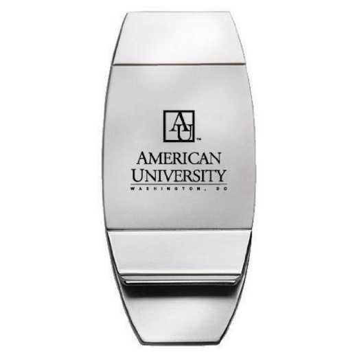 1145-AMERICN-L1-LRG: LXG MONEY CLIP, American University