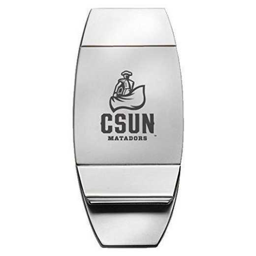 1145-CASTNTH-L1-CLC: LXG MONEY CLIP - Cal State Northridge